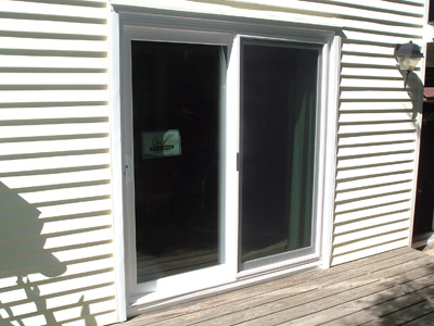Simonton Polar Wall Patio Door. 8