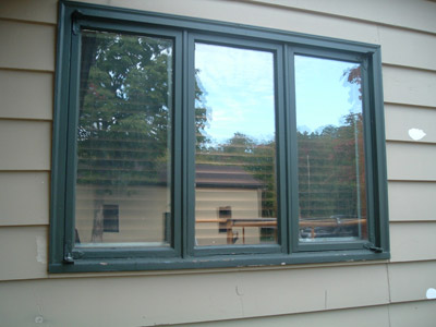 Vinyl Casement In Swing Egress